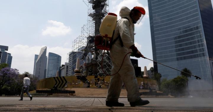 México supera las 200 muertes por coronavirus y el total de contagios asciende a 3.844